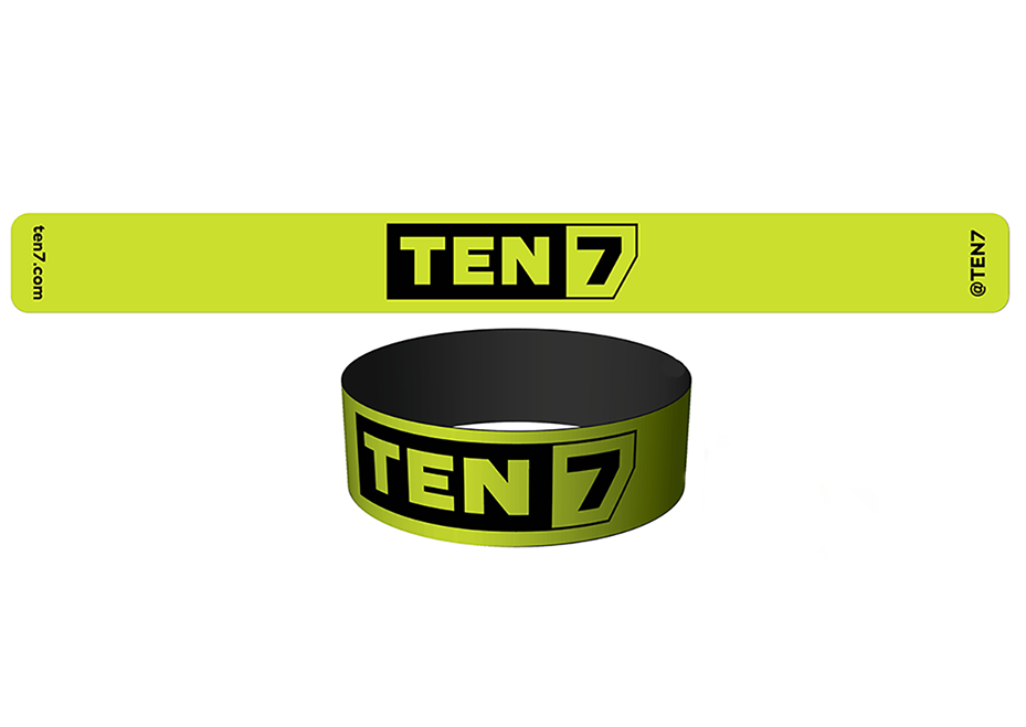 TEN7 slap bracelet