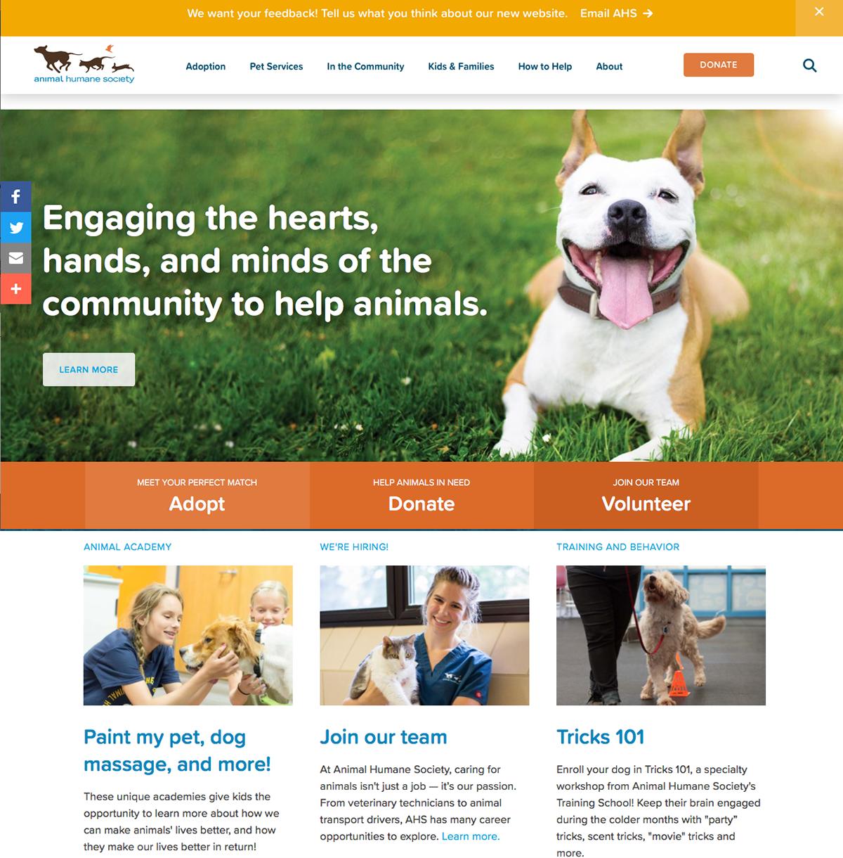 Animal Humane Society, Golden Valley Minnesota