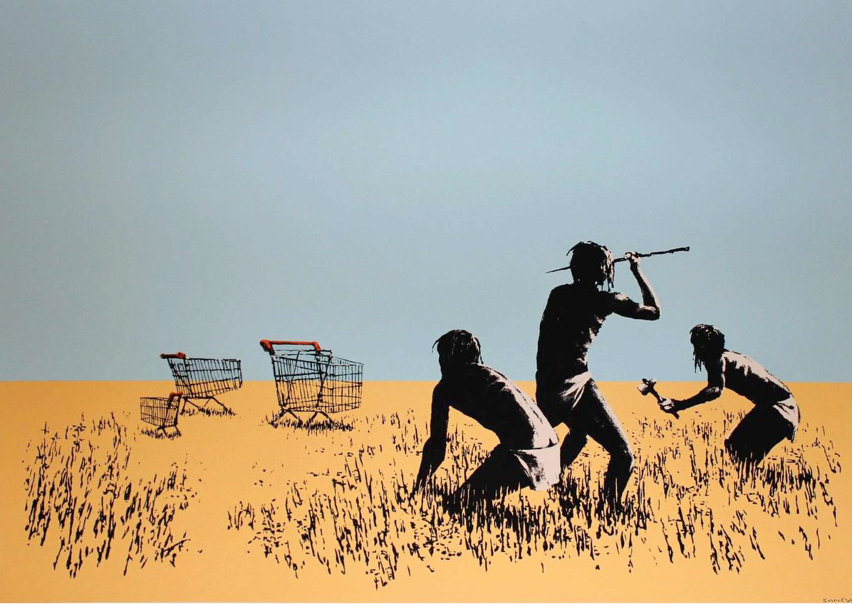 Banksy Trolley