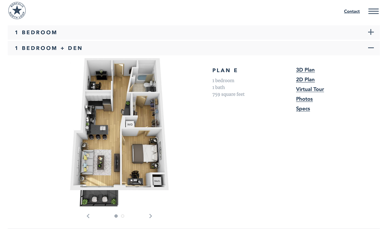 Solhem Companies floor plans