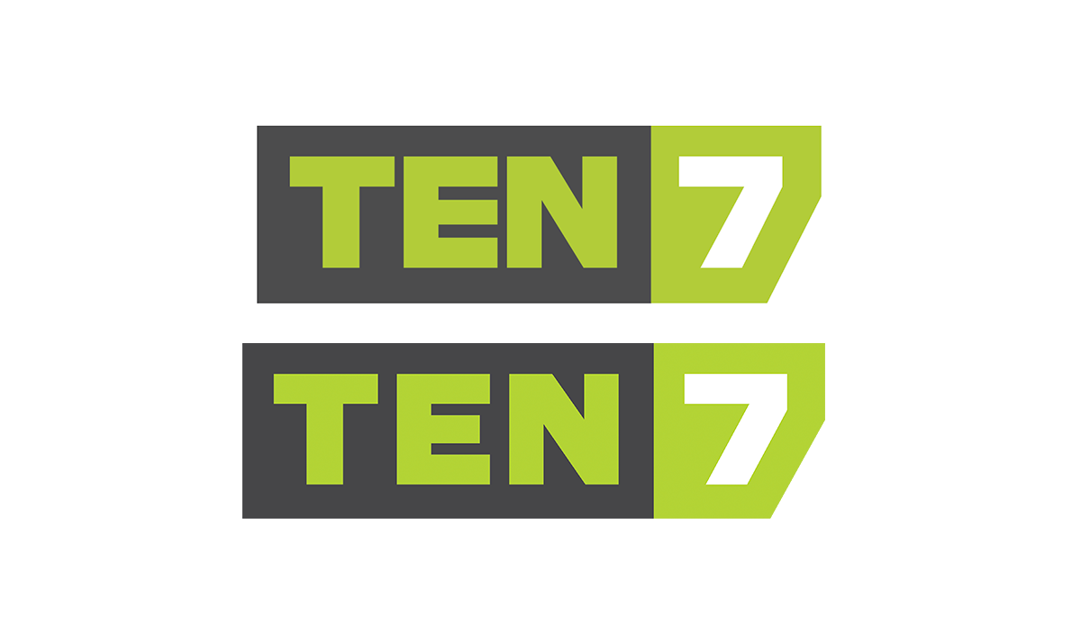 TEN7 logo first and last